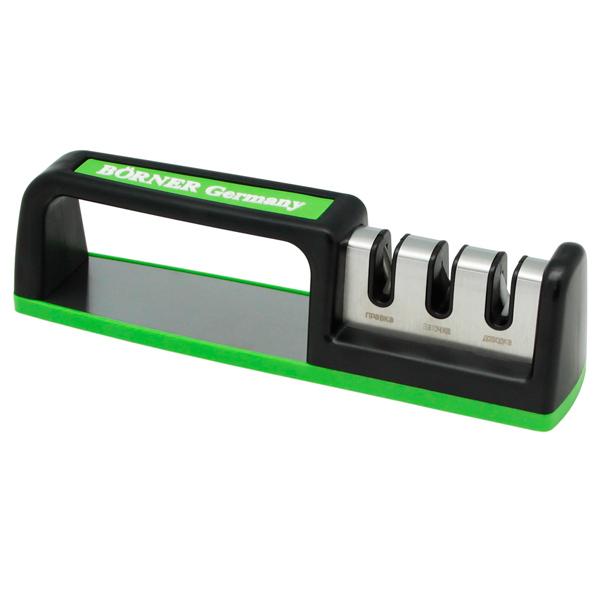 Ножеточка Borner Ножеточка Три зоны заточки Light Green