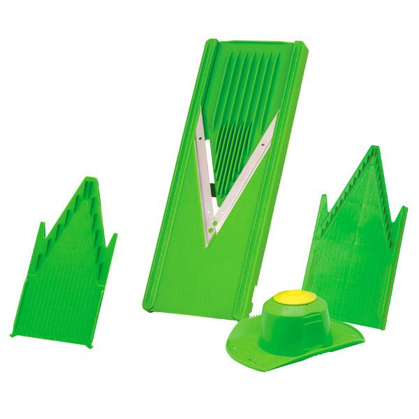Резка Borner Овощерезка Классика Light Green smeg smtc01 насадка для нарезки тальятелле silver