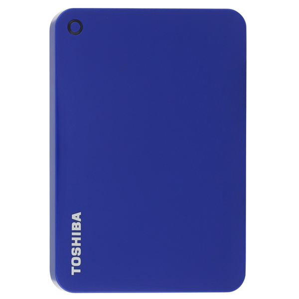 Внешний жесткий диск 2.5 Toshiba Canvio Connect II Blue 1Tb (HDTC810EL3AA)
