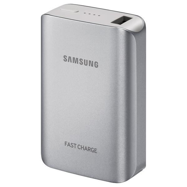 Внешний аккумулятор Samsung EB-PG930BSRGRU Silver 5100 mAh внешний аккумулятор samsung eb pn930csrgru 10200mah серый