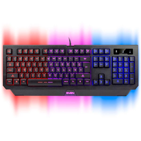 где купить Игровая клавиатура Sven Challenge 9300 дешево