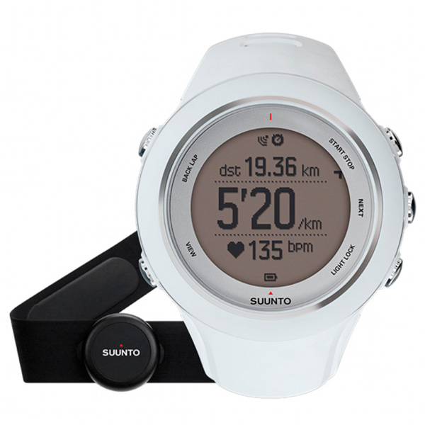 Спортивные часы Suunto Ambit3 Sport White (HR) (SS020680000) спортивные часы suunto ambit3 vertical lime hr ss021970000