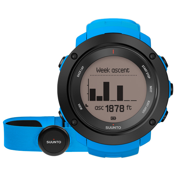 Спортивные часы Suunto Ambit3 Vertical Blue (HR) (SS021968000) спортивные часы suunto ambit3 vertical lime hr ss021970000