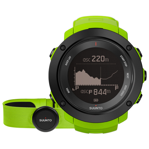 Спортивные часы Suunto Ambit3 Vertical Lime (HR) (SS021970000) спортивные часы suunto ambit3 vertical lime hr ss021970000