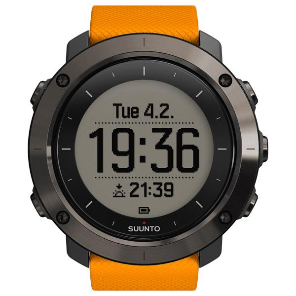 Спортивные часы Suunto Traverse Amber (SS021844000) suunto traverse alpha stealth