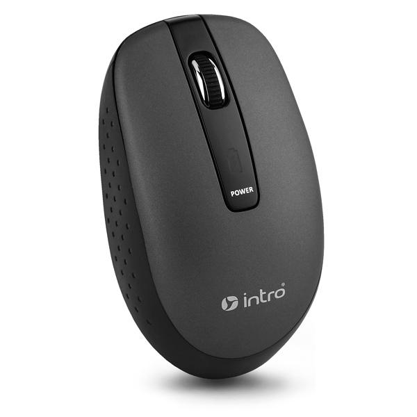 Мышь беспроводная Intro MW540 Black intro intro mw606x black usb