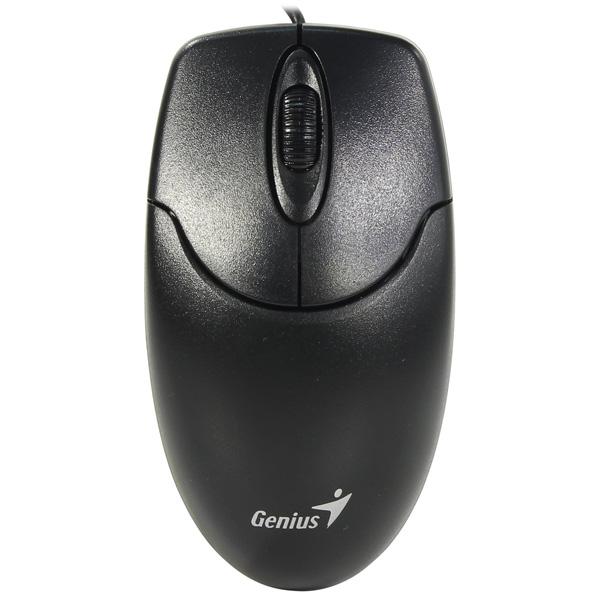 Мышь проводная Genius NetScroll 120/V2 USB Black мыши genius проводная оптическая мышь dx 130