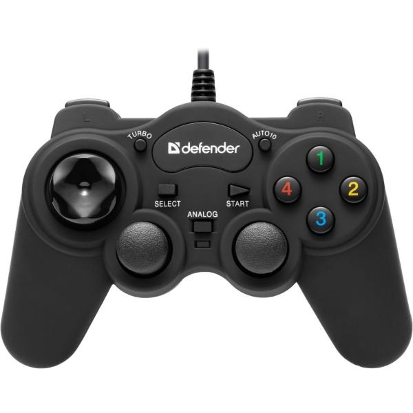 Геймпад Defender — Game Racer TurboRS3 (64251)
