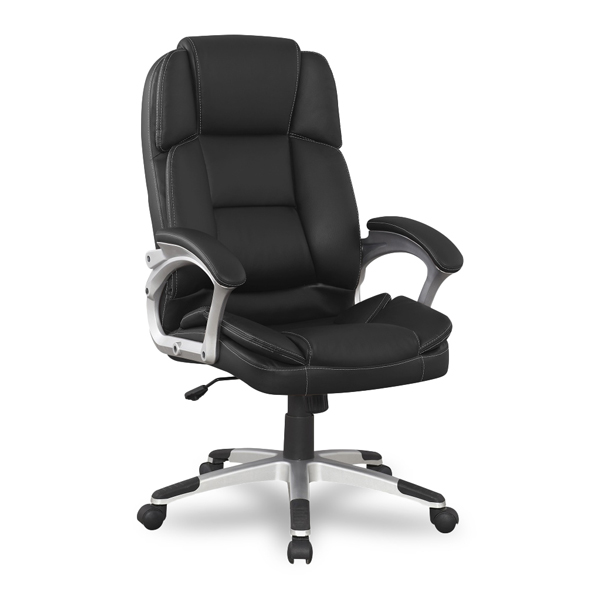 Кресло компьютерное College BX-3323 Black сиденья водительское для ваз 2112