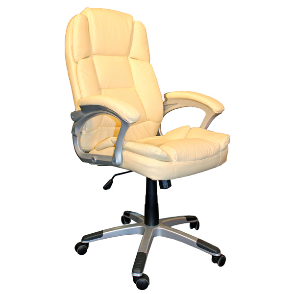 Кресло компьютерное College BX-3323 Beige сиденья водительское для ваз 2112