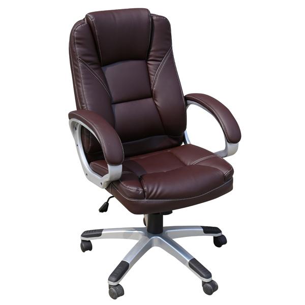 Кресло компьютерное College BX-3177 Brown кресло компьютерное college bx 3177 black