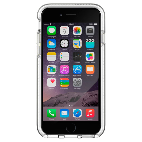 Чехол для iPhone Tech21 T21-5001 Evo Band Clear/White чехол для iphone tech21 t21 5094 clear grey
