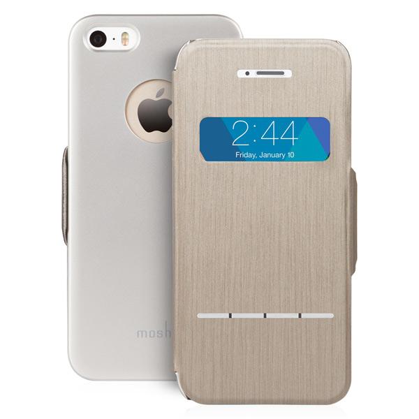 Чехол для iPhone Moshi SenseCoverBrushed Titanium (99MO072241) цена 2017