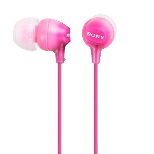 Наушники внутриканальные Sony MDR-EX15LP Pink розового цвета