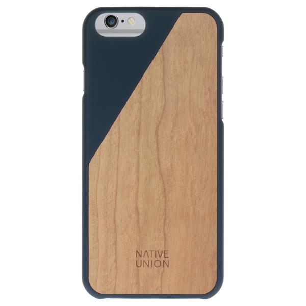 Чехол для iPhone Native Union CLIC Wooden (CLIC-MAR-WD-6P-V2) клип кейс native union clic card для apple iphone 8 plus 7 plus черный