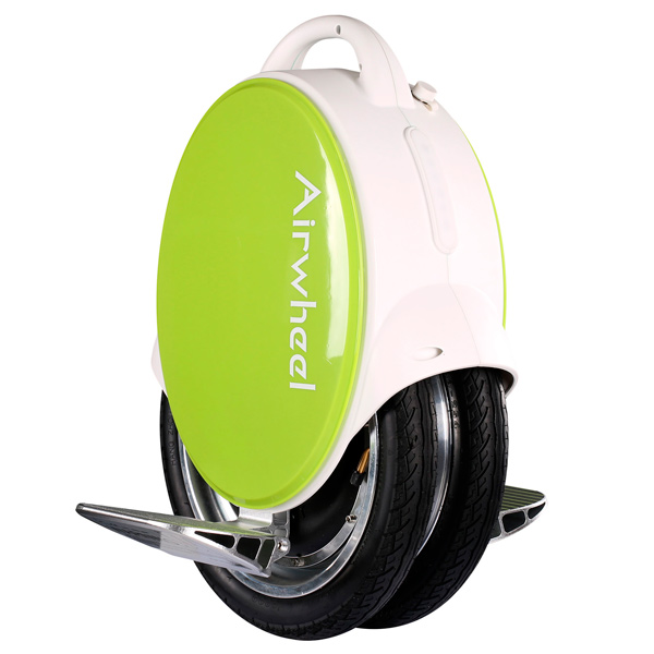 Airwheel, Моноколесо, Q5 170 WH White/Green (AW Q5-170WH-WHITE-GREEN)