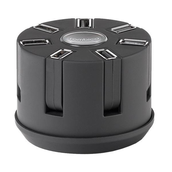 Автомобильное зарядное устройство Rombica 7 USB 2.1A + витой шнур (Auto MC07)