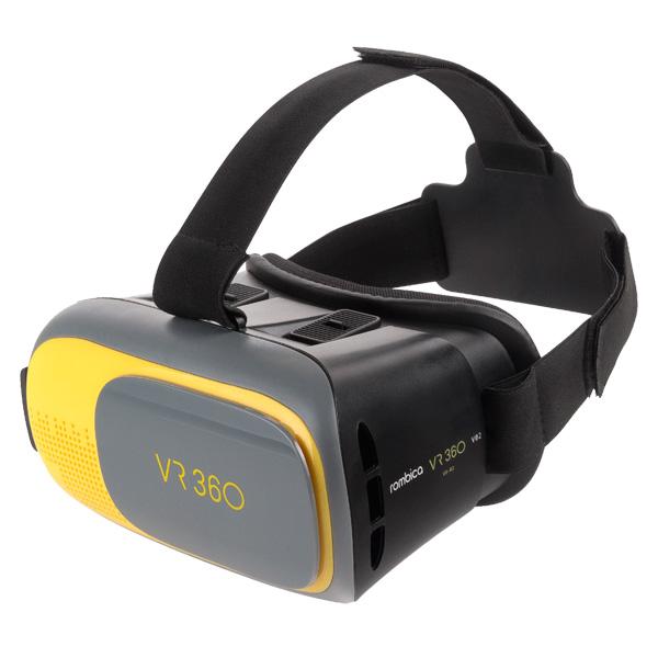 Очки виртуальной реальности с джойстиком м видео защита объектива жесткая combo собственными силами
