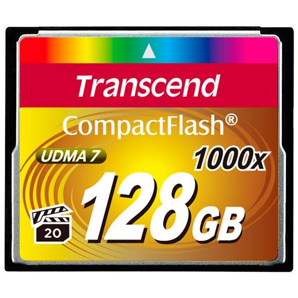Карта памяти CompactFlash Transcend TS128GCF1000 фото