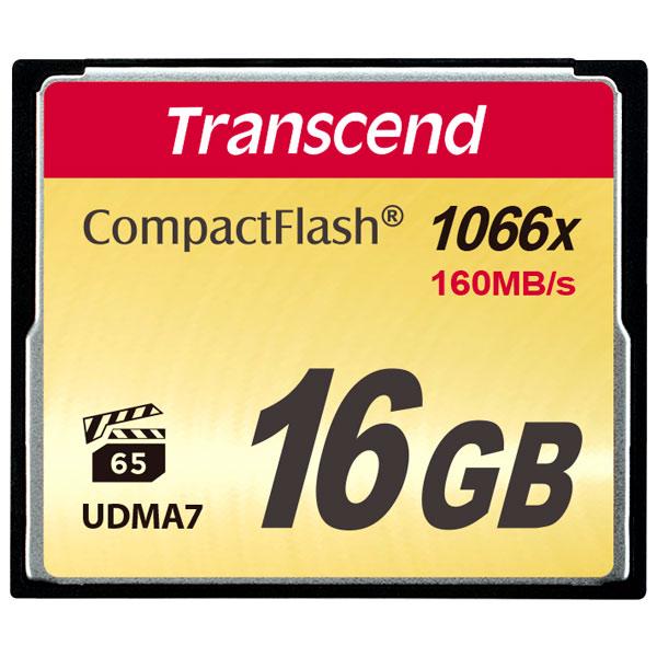 Карта памяти CompactFlash Transcend TS16GCF1000