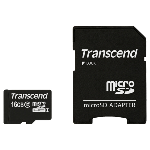 Карта памяти SDHC Micro Transcend TS16GUSDHC10