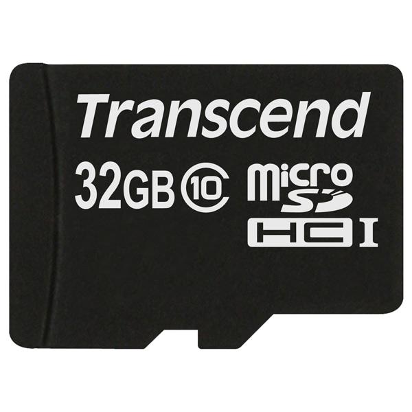 Карта памяти SDHC Micro Transcend TS32GUSDC10