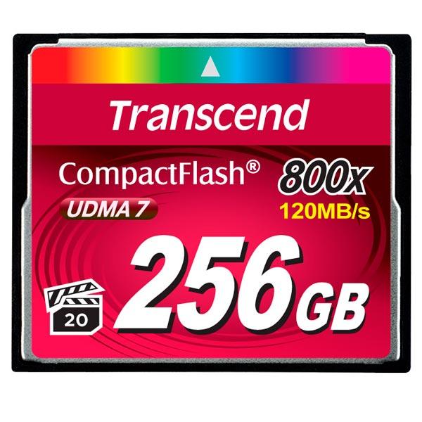 Карта памяти CompactFlash Transcend TS256GCF800