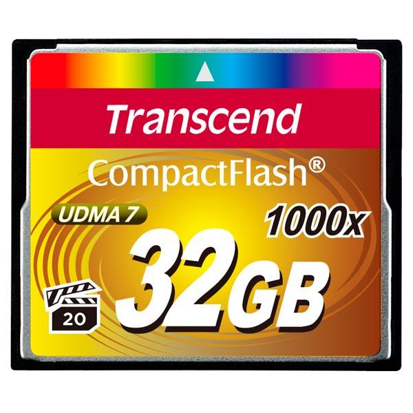 Карта памяти CompactFlash Transcend TS32GCF1000