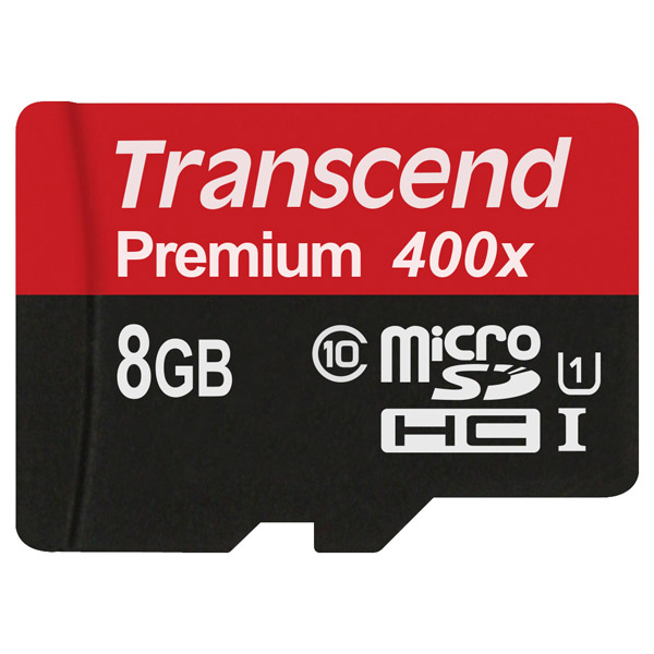Карта памяти SDHC Micro Transcend