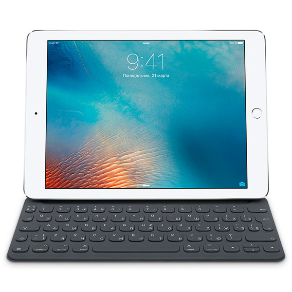 Apple, Клавиатура для ipad, Smart Keyboard for 9.7-inch iPad Pro Ru MNKR2RS/A
