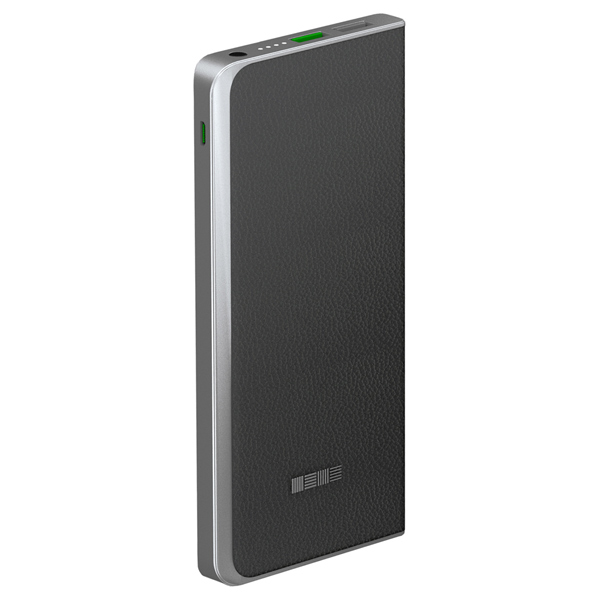 Внешний аккумулятор InterStep PB6000QCB (IS-AK-PB6008QCB-000B210) 6000 mAh кабель usb type c interstep usb 3 0 neylon silver 1m is dc typcusbns 000b210