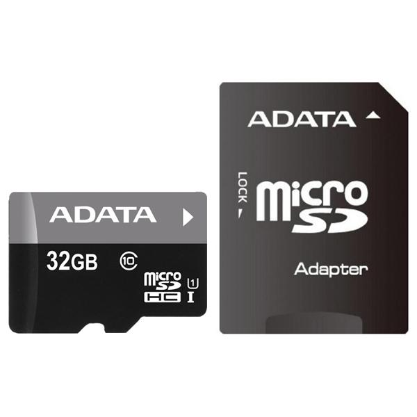 Карта памяти SDHC Micro ADATA AUSDH32GUICL10-RA1