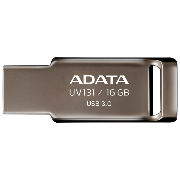 ADATA, Флеш-диск, UV131 Metal 16GB (AUV131-16G-RGY)