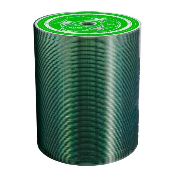 CD-R диск Mirex, 700Mb 52х Sport Shrink 100 шт. (208389)  - купить со скидкой