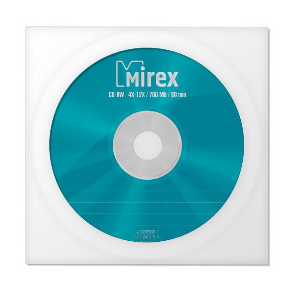 Купить CD-RW диск Mirex 700Mb 12х (1050253) в каталоге интернет магазина М.Видео по выгодной цене с доставкой, отзывы, фотографии - Нижний Новгород