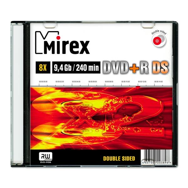 Купить DVD+R диск Mirex 9.4Gb 8x Slim Case Double Side (203896) в каталоге интернет магазина М.Видео по выгодной цене с доставкой, отзывы, фотографии - Москва