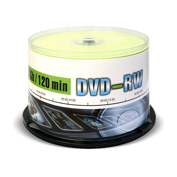 DVD-RW диск Mirex 4.7Gb 4x Cake Box 50 шт. (207221) dvd r vs 4 7gb 16х 10шт cake box