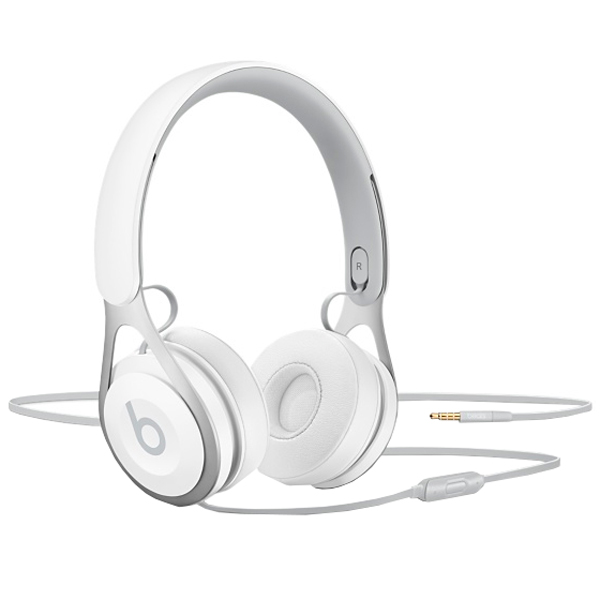 Наушники накладные Beats EP On-Ear Headphones White (ML9A2ZE/A) наушники накладные beats ep on ear headphones red ml9c2ze a