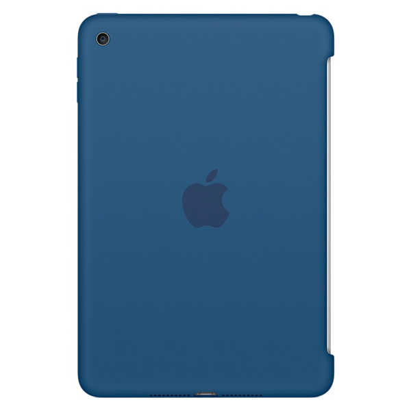 Кейс для iPad mini Apple iPad mini 4 Silicone Case Ocean Blue (MN2N2ZM/A) кейс для микшерных пультов thon mixer case powermate 1600 2