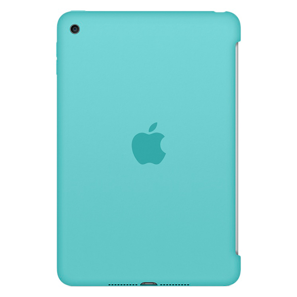 Кейс для iPad mini Apple iPad mini 4 Silicone Case Sea Blue (MN2P2ZM/A) кейс для микшерных пультов thon mixer case powermate 1600 2