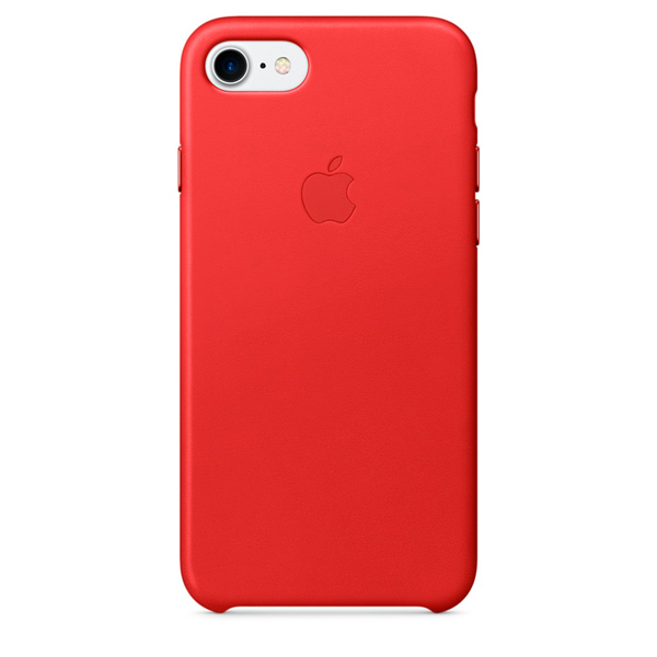 Чехол для iPhone Apple iPhone 7 Leather Case (PRODUCT)RED (MMY62ZM/A)