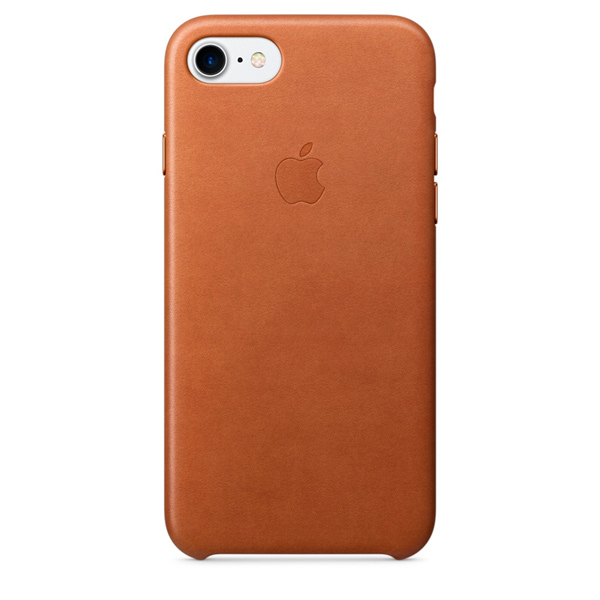 Чехол для iPhone Apple iPhone 7 Leather Case Saddle Brown (MMY22ZM/A)