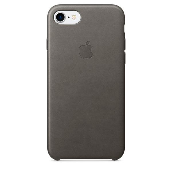 все цены на Чехол для iPhone Apple iPhone 7 Leather Case Storm Gray (MMY12ZM/A) онлайн