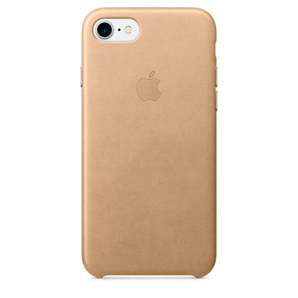 Чехол для iPhone Apple iPhone 7 Leather Case Tan (MMY72ZM/A) чехол для iphone apple iphone 7 plus leather case tan mmyl2zm a