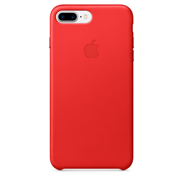 Чехол для iPhone Apple iPhone 7 Plus Leather Case(PRODUCT)RED(MMYK2ZM/A) чехол apple для iphone 7 plus 8 plus silicone case product red