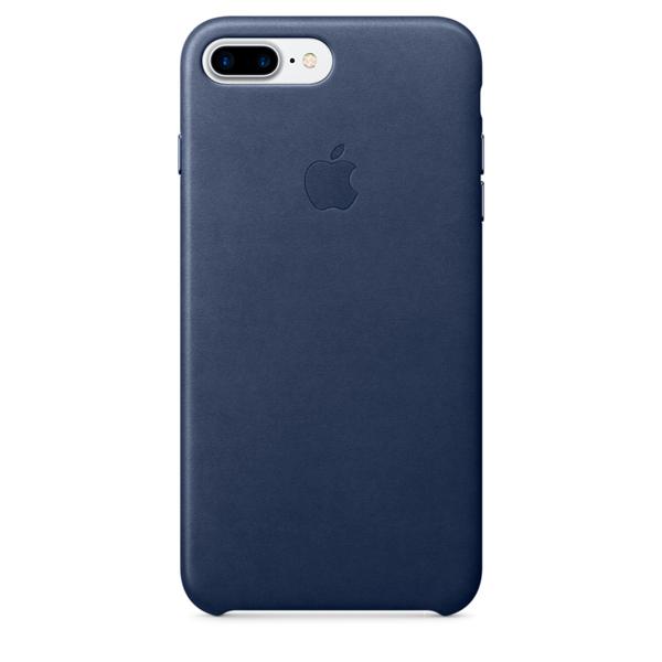 Чехол для iPhone Apple iPhone 7 Plus Leather Case Midn.Blue (MMYG2ZM/A) кейс для iphone apple iphone 7 plus leather case sadd brown mmyf2zm a