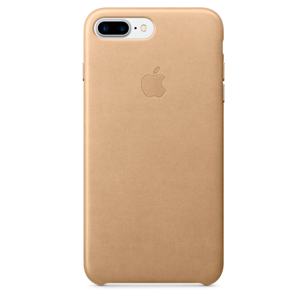 Чехол для iPhone Apple iPhone 7 Plus Leather Case Tan (MMYL2ZM/A)