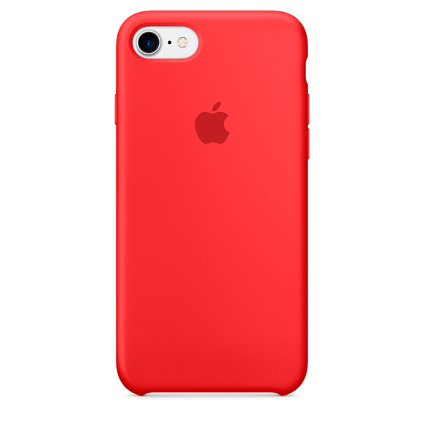 Чехол для iPhone Apple iPhone 7 Silicone Case (PRODUCT)RED (MMWN2ZM/A)