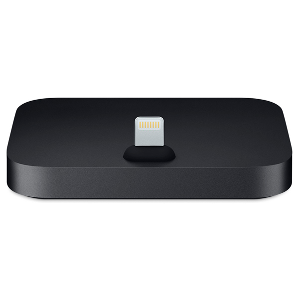 Док-станция для телефона Apple iPhone Lightning Dock Black (MNN62ZM/A) док станция sigma usb lens dock for sony