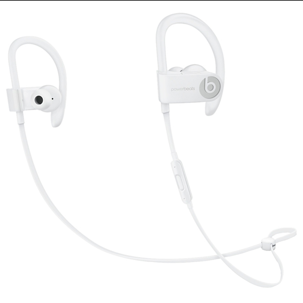 Спортивные наушники Bluetooth Beats Powerbeats3 Wireless White (ML8W2ZE/A) bluetooth гарнитура beats powerbeats 3 wl белый ml8w2ze a